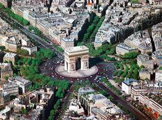 arc de triomphe ~ paris, france @ebe porter