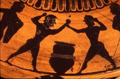 Theagenes of Thasos  Boxer, Pankratiast & Runner  Victor in boxing in the 75th Olympiad, 480 BCE  Victor in the pankration in the 76th Olympiad, 476 BCE  His ambition was, I think, to rival Achilles by winning a prize for running in the fatherland of the swiftest of those who are called heroes. The total number of crowns that he won was one thousand four hundred. ... Pausanias, Description of Greece, 6. 11. 5