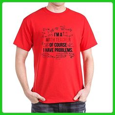 CafePress - Math Teacher Problems - 100% Cotton T-Shirt - Careers professions shirts (*Amazon Partner-Link)