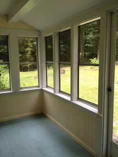 pinterest green house porches | This is the enclosed porch at our new house in the Catskills: