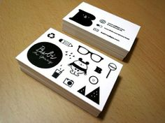 Planning on creating your own business cards soon? Well here you have 250 fresh creative business cards designs all on one page for your inspiration. Cute Business Cards, High Quality Business Cards, Professional Business Cards, Business Card Design Inspiration, Business Design, Creative Business, Corporate Design, Corporate Identity, Identity Design