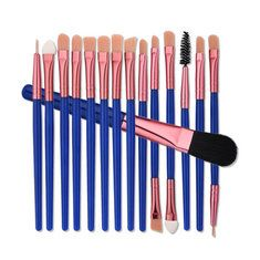 Best 7Pcs/Set Glitter Mermaid Liquid Handle Makeup Brushes Set Eyeshadow Powder Blush Brush - NewChic Mobile.
