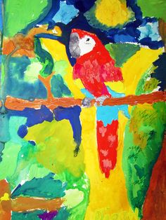 Proyecto Garabateando aprendo a pintar Autor: Diego