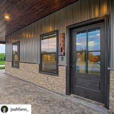 Pole Barn House Plans, Pole Barn Homes, Barn Plans, Dream House Plans, Pole Barns, Steel Building Homes, Building A House, Morton Building, Metal Shop Houses