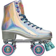 Impala Rollerskates Girl's Impala Quad Skate Big Kid/Adult Holographic 7 US 5 7 Best Roller Skates, Outdoor Roller Skates, Quad Skates, Roller Derby, Roller Skating, Retro Roller Skates, Speed Skates, Roller Skates For Kids, Light Up Roller Skates