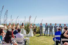 Auckland's most stunning cliff top ocean front wedding destination