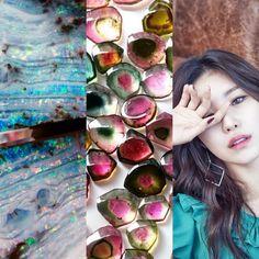 BirthStones&KPOP // Tourmaline & Opal // Hyosung of secret