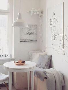 Kleine Wohnung einrichten: Ab in die Ecke!