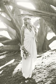 the hippie/classy bride