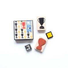 Trophy Stamp Set