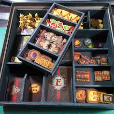 Mice and Mystics foam insert layout by Curtis Delaney