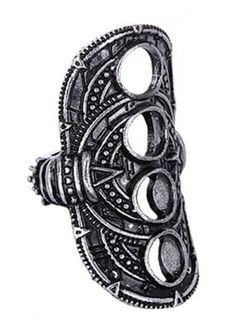Restyle Hollow Moon Ring, £10.99