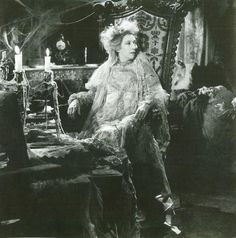 Great Expectations 1946 movie version with Dame Edna May Oliver as Mrs. Havisham.
