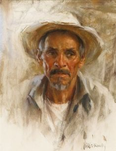 Portrait of a Man by Harley Brown