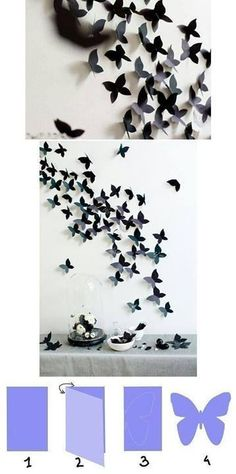 Mariposas!!   Manualidades Gratis