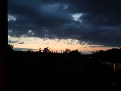 Epic sunset outside my flat