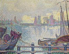 Le Port De Volendam by Paul Signac