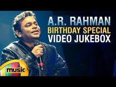 AR Rahman Telugu hit songs Jukebox. Listen to his birthday special Video Songs from musical blockbuster movies like Roja, Oke Okkadu, Naani, Ye Maaya Chesave, Paravasam and Priyuralu Pilichindi.