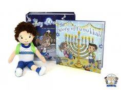 Don Lichterman: New Holiday items added to the vending Lot!  A Hanukkah Tradition The Story of Funukkah Plush Doll and Book Set