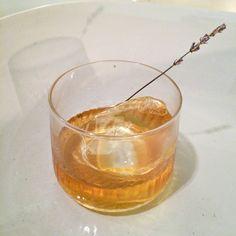 Bruleed Old Fashioned, from Hog & Rocks SF: 2 oz high west 2x rye, 1 ...