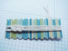 The sailor's knot tute: this is great for guy cards. Tutorial by Barbara Anders  For the sailors wedding.