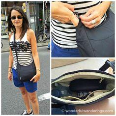 Pacsafe Citysafe 100 GII anti-theft travel handbag