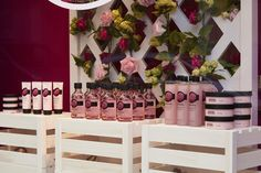 The Body Shop - spring retail scheme - visual merchandising British Rose, Shop Fittings, The Body Shop, Retail Design, Visual Merchandising, Interior Design, Boutiques, Holiday Decor, Pretty