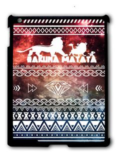 Hakuna Matata Aztec Space iPad case, Available for iPad iPad iPad 4 , iPad mini and iPad Air Ipad Mini Cases, Ipad Air Case, Ipad Pro 12 9, Ipad 4, Cool Cases, Ipod Touch, Aztec, Hakuna Matata, Space