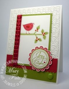 Stampin Up Best of Everything stamp set (bird and branch)