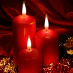 Pillar Candles, Joy, Bonheur, Travertine, Happy Merry Christmas, Christmas Parties, Candles, Taper Candles