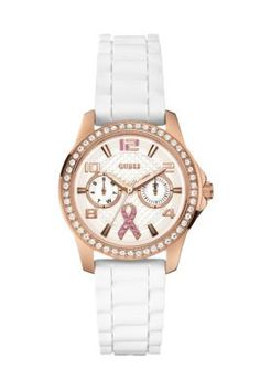 2014 Sparkling Pink Watch Benefiting Breast Cancer Awareness | GUESS.com