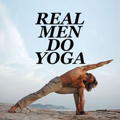 Real Men Do Yoga #YogaMen http://iandarrah.com/