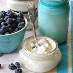 Domácí řecký jogurt
