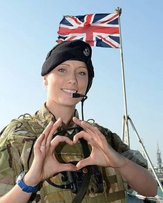 British women hold the position among the most attractive soldiers. They have been integrated into the British Armed Forces since the early however, they remain excluded from primarily combat units in the Army, Royal Marines, and Royal Air Force Regiment. Military Girl, Military Police, Forever Girl, British Armed Forces, Warrior Girl, Warrior Women, Military Pictures, Support Our Troops, Female Soldier