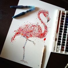 London-based artist Ana Enshina uses her creative eye to envision majestic animals as an abundance of multicolored spots. Dot by dot, the watercolorist forms diverse creatures including a statuesque, bright pink flamingo, a graceful whale suspended in the sea, and a distinguished peacock with a lovely array of feathers. Whether she's focusing on animals found on …