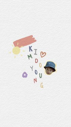 Name Wallpaper, Cute Wallpaper Backgrounds, Pattern Wallpaper, Cute Wallpapers, Kpop Diy, Fandom Kpop, Nct Doyoung, Boy Images, Instagram Story Ideas