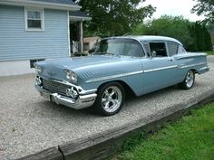 Locate the Chevrolet hot rod you've been looking for from RacingJunk Classifieds. Classis & iconic Chevrolet hot rods are available. 1958 Chevy Impala, Chevrolet Impala, Buick Cars, Chevrolet Bel Air, Muscle Cars, Vintage Cars, Cool Cars, Hot Rods, Automobile
