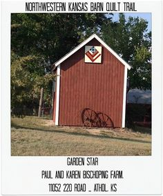 Snapshots of a Kansas Farm: North Central/Northwestern Kansas Barn Quilt Trail