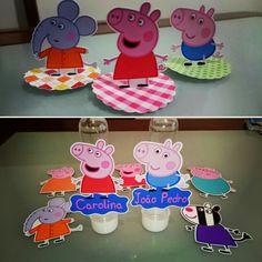 Decoração para festa da Peppa Pig
