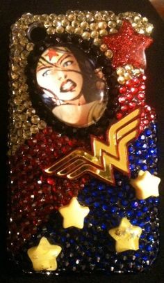 Wonder Woman cell phone cover