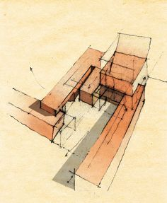 archisketchbook - architecture-sketchbook, a pool of architecture drawings, models and ideas - Alberto Mendonça e Moura