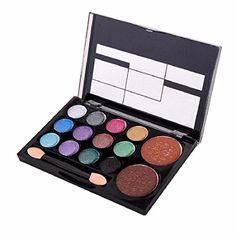 Orangeskycn 14 Colors Makeup Shimmer Palette Cosmetic Nude Warm Eye Shadow B >>> You can get more details by clicking on the image.