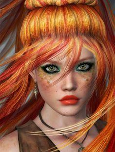LAURO WINCK: Portrait in orange