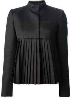 NEW black fashion Blazer - New Outfits Fashion Details, Look Fashion, Winter Fashion, Fashion Tips, Fashion Design, Blazer Fashion, Hijab Fashion, Fashion Dresses, Suit Fashion
