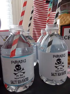 Pirate Party Birthday Party Ideas | Photo 14 of 37 | Catch My Party