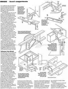 Secret Compartment Furniture - Furniture Plans