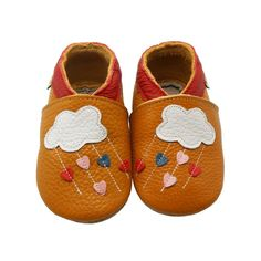 Sayoyo Baby Cloud Soft Sole Leather Infant Toddler Prewalker Shoes,Brown,6-12 Months / 5-6 M US Toddler. This baby shoes light-weight and durable and fit narrow feet, wide feet, and everything in-between. They are a perfect first pair of shoes. Slip-on baby shoes look great with or without socks.soft sole slip-on crib shoes have an elasticized ankle designed to ensure the shoes stay on little feet. Shoes are made from ultra-soft, flexible leathers that bend in all directions for added...