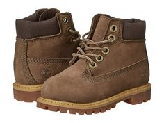 "Timberland Kids 6"" Premium Waterproof Boot Core (Toddler/Little Kid) Taupe - Zappos.com Free Shipping BOTH Ways"
