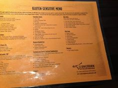 Gluten Free, Good Experience At Longhorn Steakhouse Phoenix - Restaurant Raves & Reviews