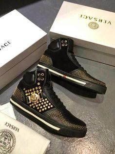 95bf14738ee8 Shop VERSACE new-season 2014-15 mens SNEAKERS at MYRICARDO.Discover our  latest. Chaussures VersaceChaussures Pour HommesChaussures ...